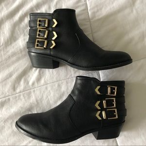 ALDO Kubasek Black booties